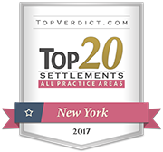 Top 20 Settlement | All Practice Areas | New York 2017